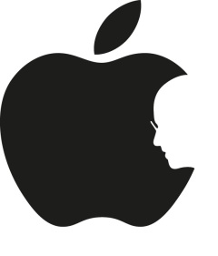Steve Jobs Apple Logo